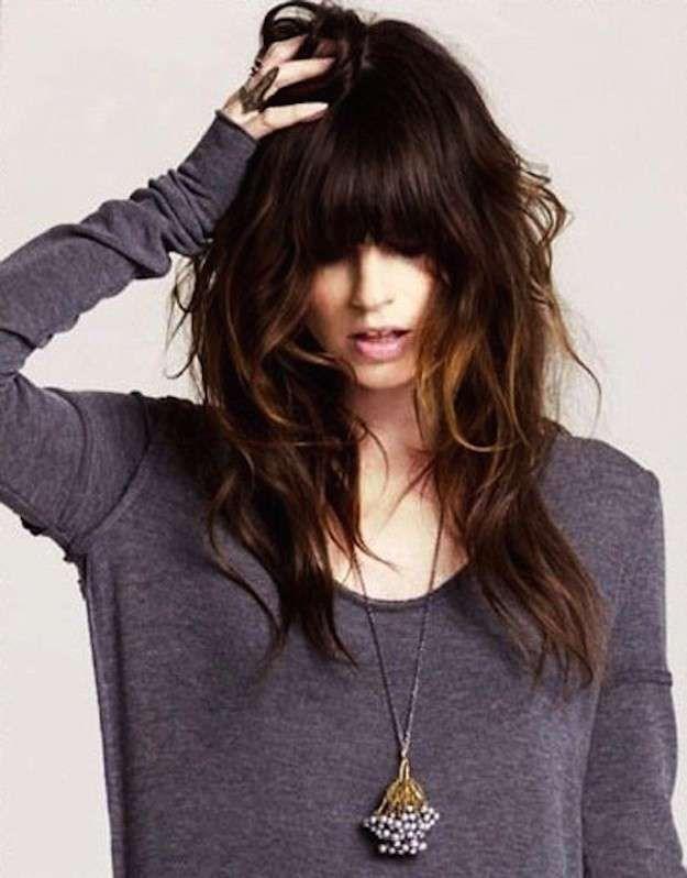 Cortes de cabello escalonado primavera