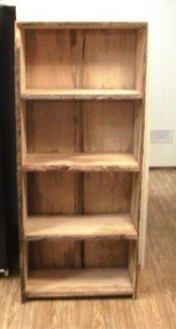 5x2 Cypress bookshelf.