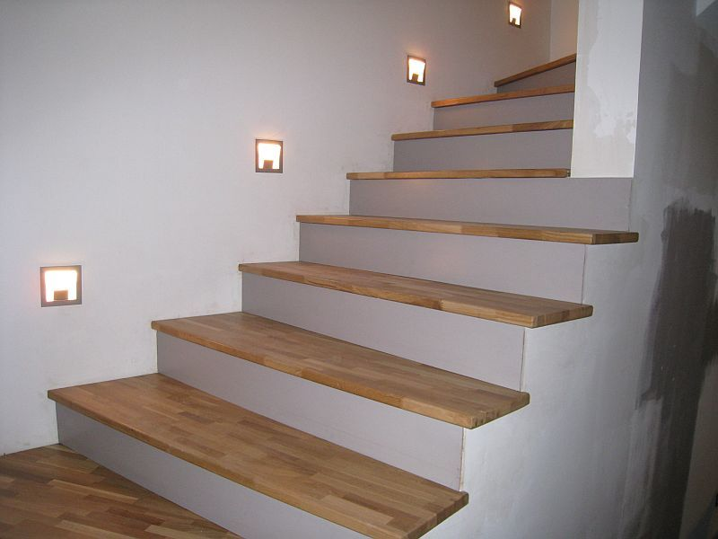 R novation escaliers id es maison pinterest escaliers r novation et escalier beton - Decoration contremarche escalier ...