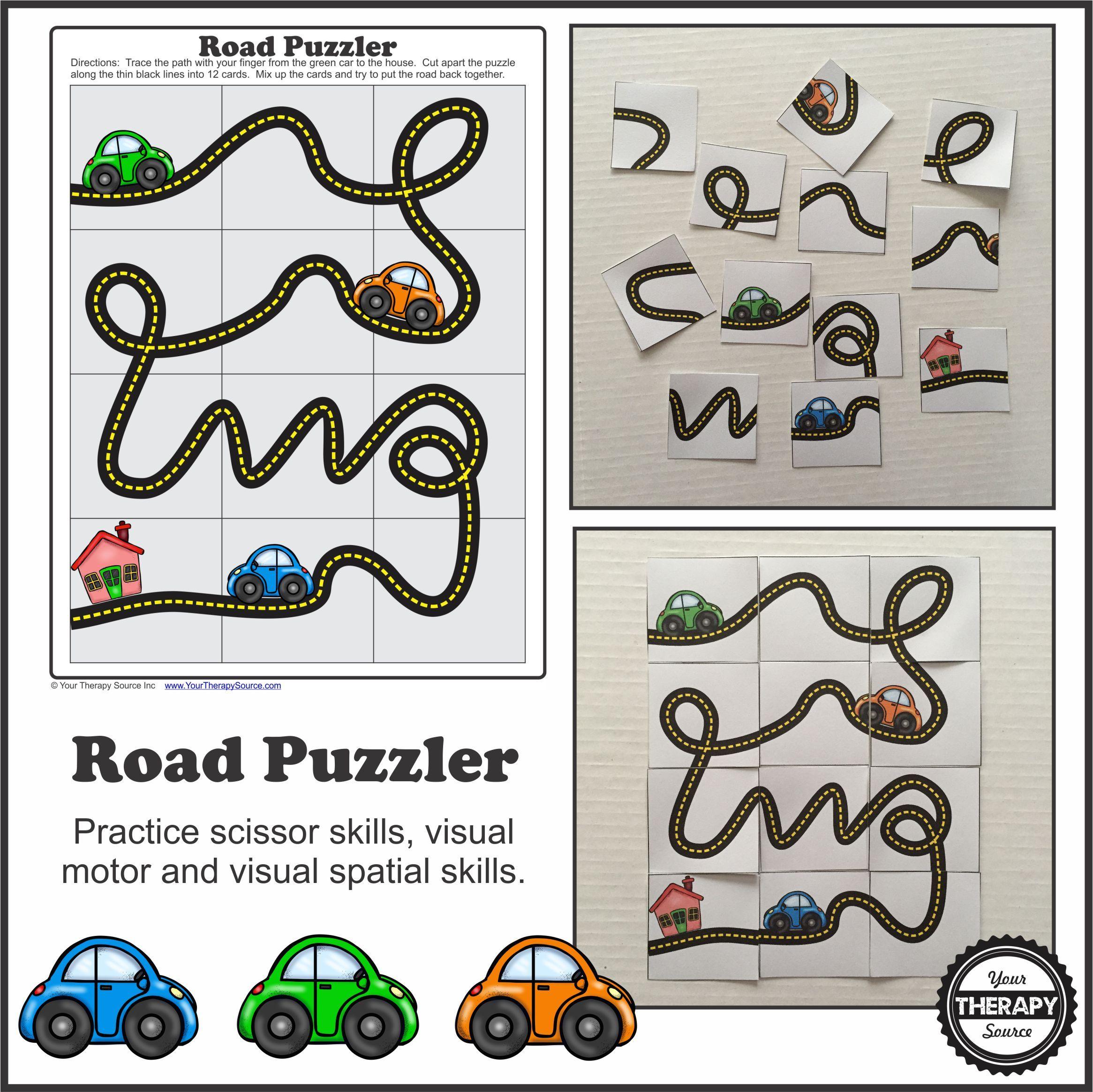 Road Puzzler