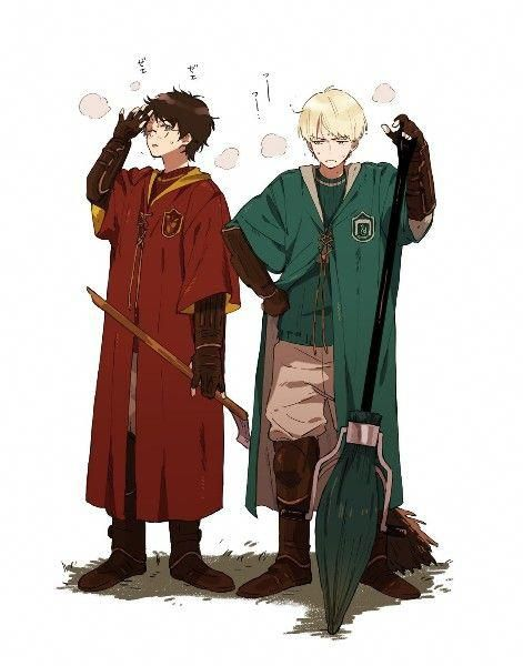 Drarry #harrypottermemes