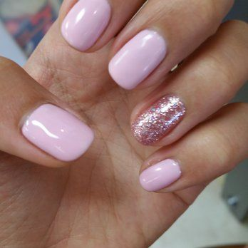 gel nail light light pink gel nails yelp nails 30856