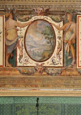 Palazzo Sacchetti - Stanza dei fatti Mitologici.