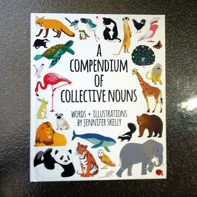 A Compendium of Collective Nouns by Tasmanian artist and