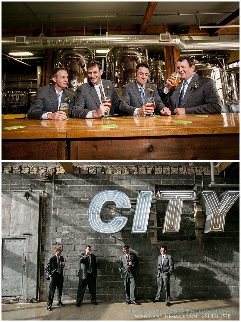 Wedding Photography Twin Cities Mn: Groomsmen Poses, 612Brew, Minneapolis Wedding Venues