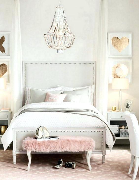 Weiß und Gold Schlafzimmer Dekor Pinterest Room makeovers