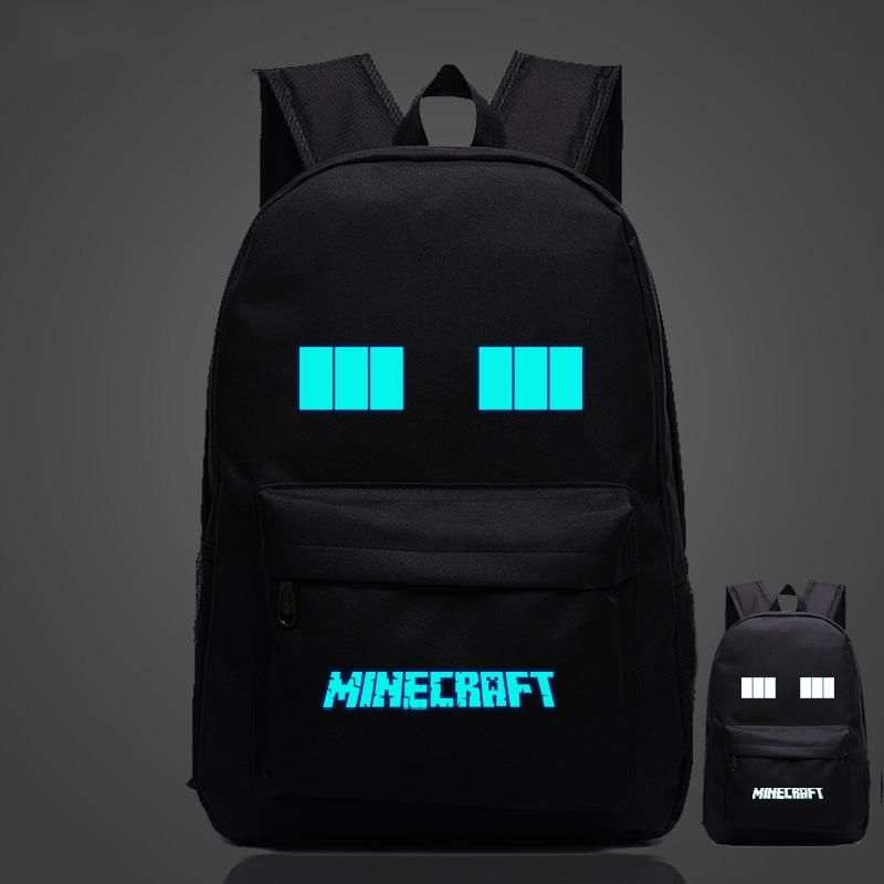 6266ab4c2f Minecraft Backpacks Children School Boys and Girls Back To School Bags Minecraft  School Bag Canvas Bts High Quality Backpack