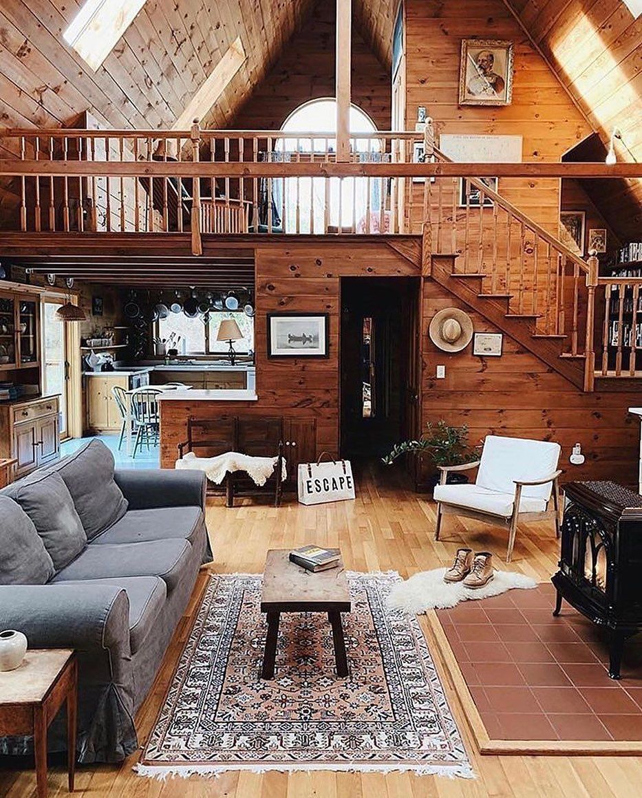 Tiny House Attractive On Instagram All What I Need In My Life Rate This Design 1 10 Forestbound Follow In 2020 Cabin Design Modern Cabin A Frame Cabin