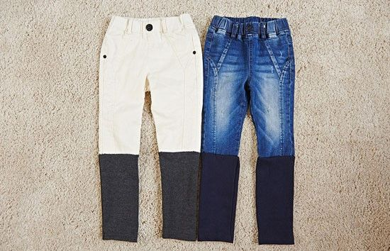 Leg Warmers Skinny Jeans for unisex kids fashion at colormewhimsy fall season 12