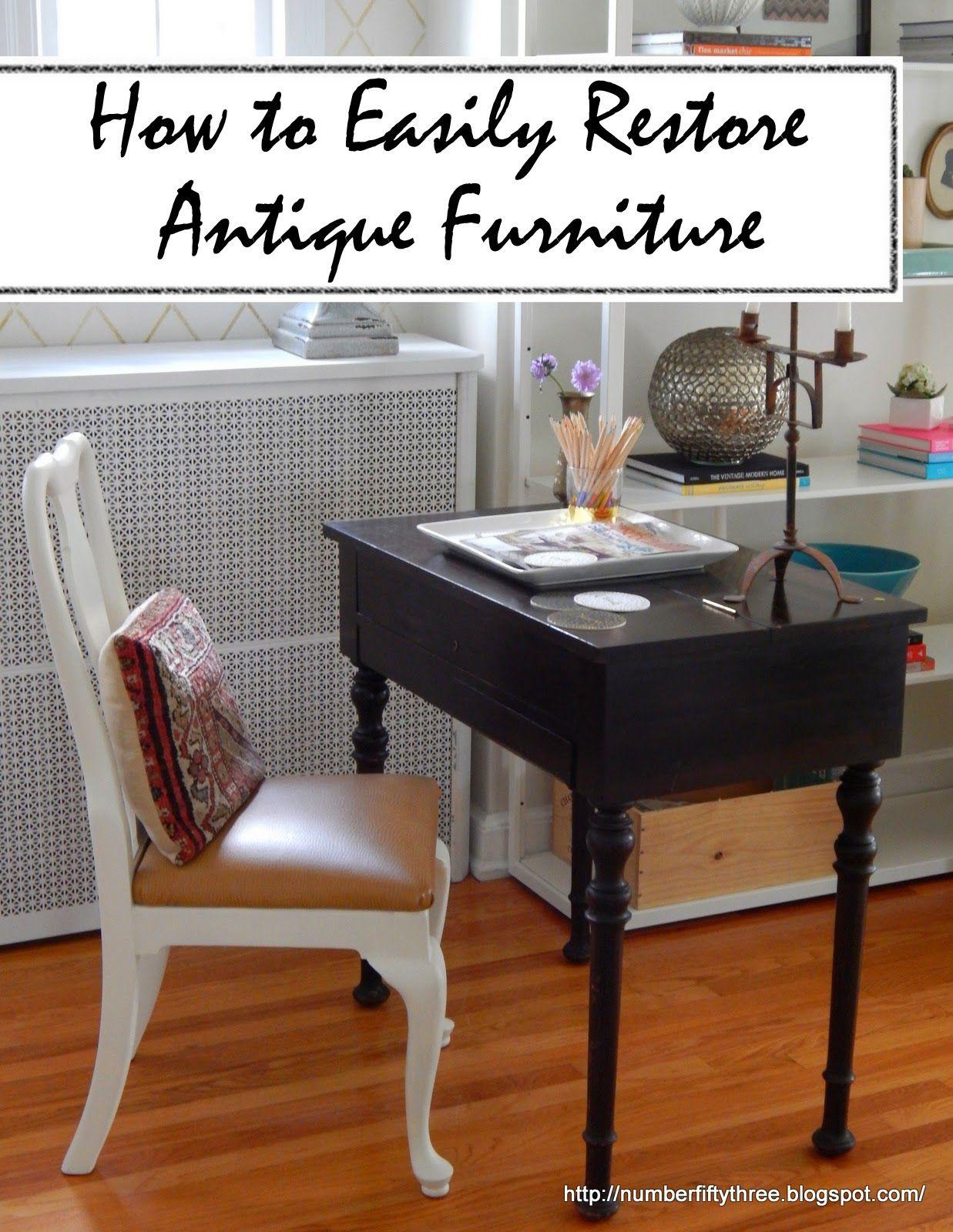 Restored Antique Spinet Desk - Restored Antique Spinet Desk (Number Fifty-Three) Desks, Third