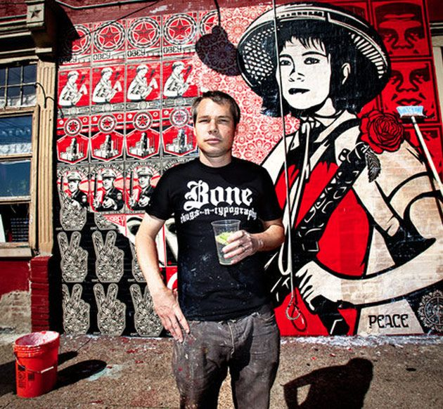 Image result for Graffiti Artist Shepard Fairey