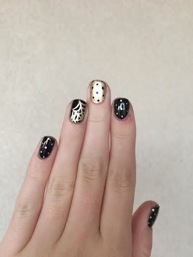 Nails by Bailee: classy halloween nails picture tutorial ...