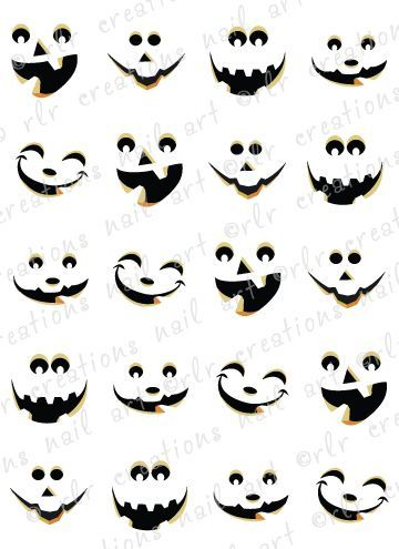 How To Draw A Scary Face Scary Halloween Jack O Lanterns Jack O Lantern Faces Halloween Deco