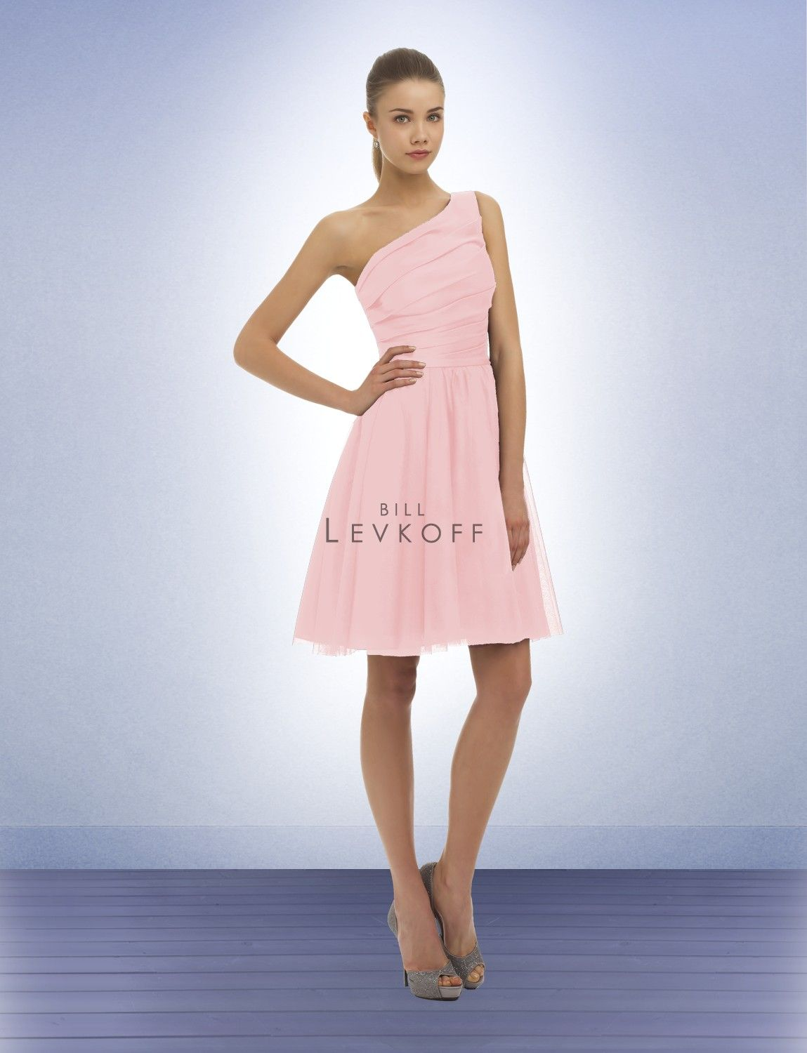 Bridesmaid Dress Style 342 bill levkoff. I\'m not a big fan of the ...