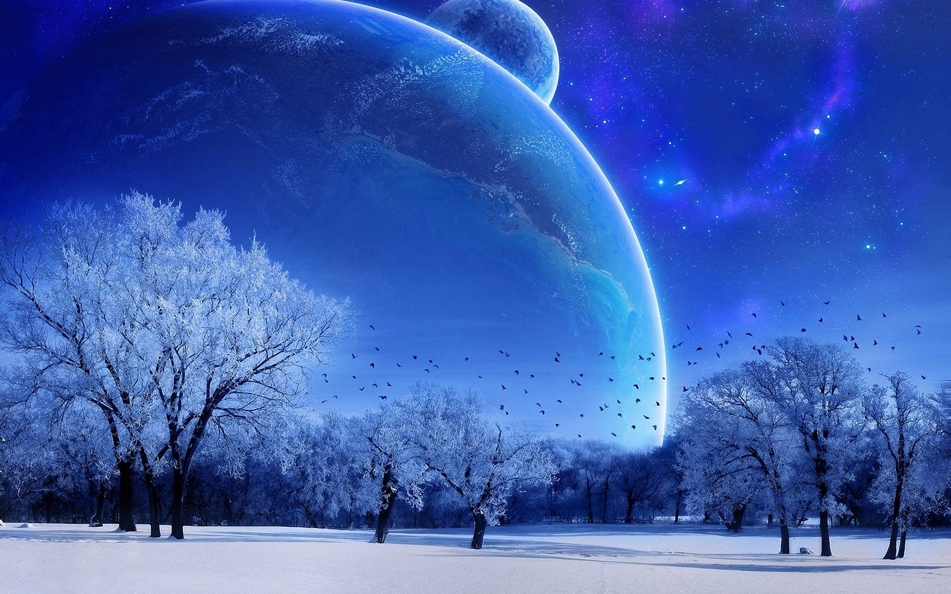 Winter Nature Wallpapers With Images Planets Wallpaper