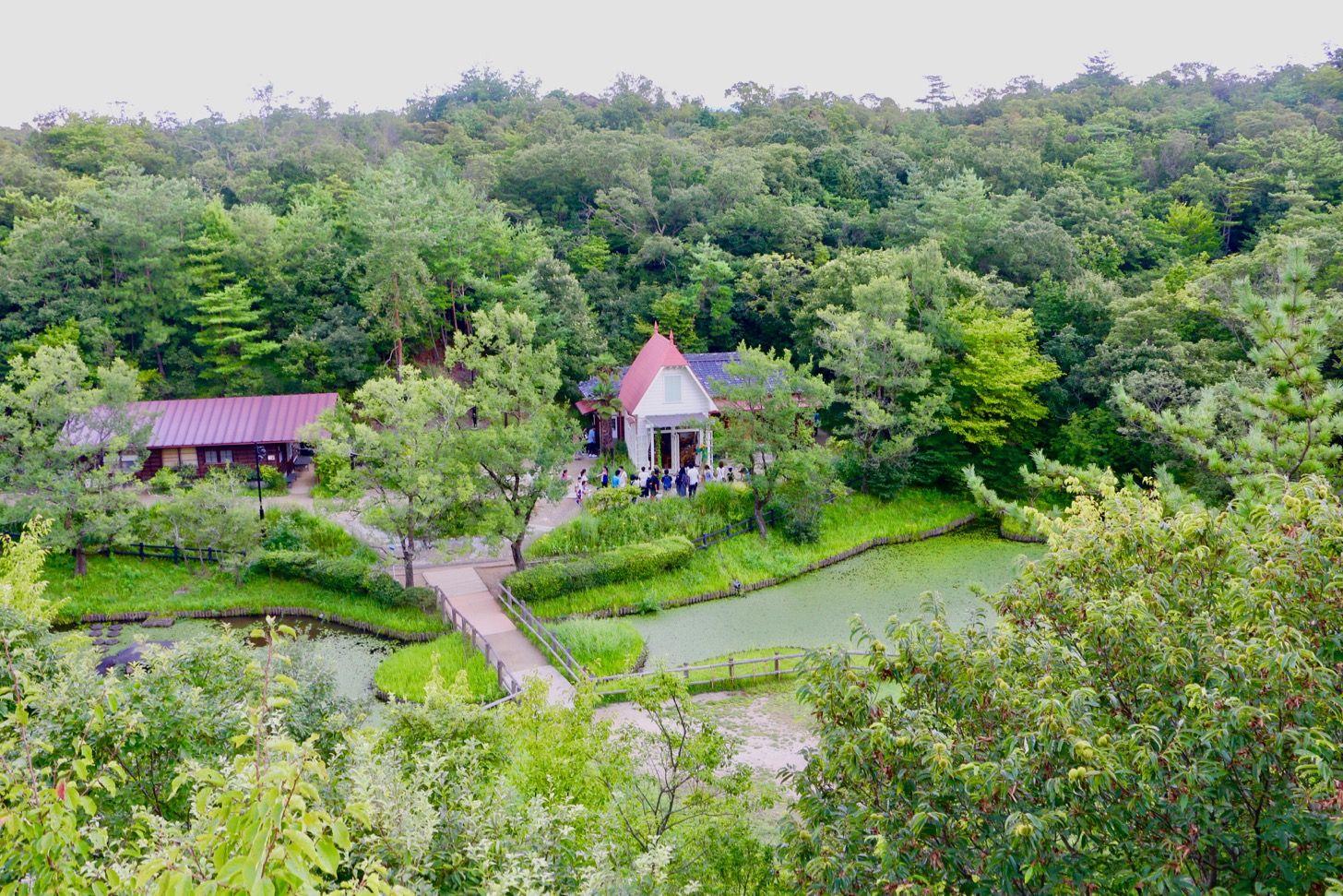 サツキとメイの家 ジブリパーク予定地の愛 地球博記念公園をさんぽ トトロ の世界観に入り込めて感動 サツキとメイの家 東京 散歩 サツキ