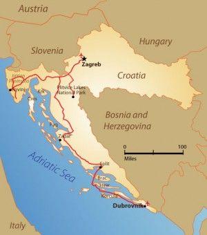 Croatia Itinerary Croatia Zagreb Croatia Croatia Holiday