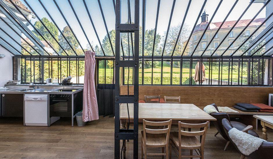 Gewächshaus Wohnung gewächshaus am spiegelsee ferienhäuschen luxus und wohnideen