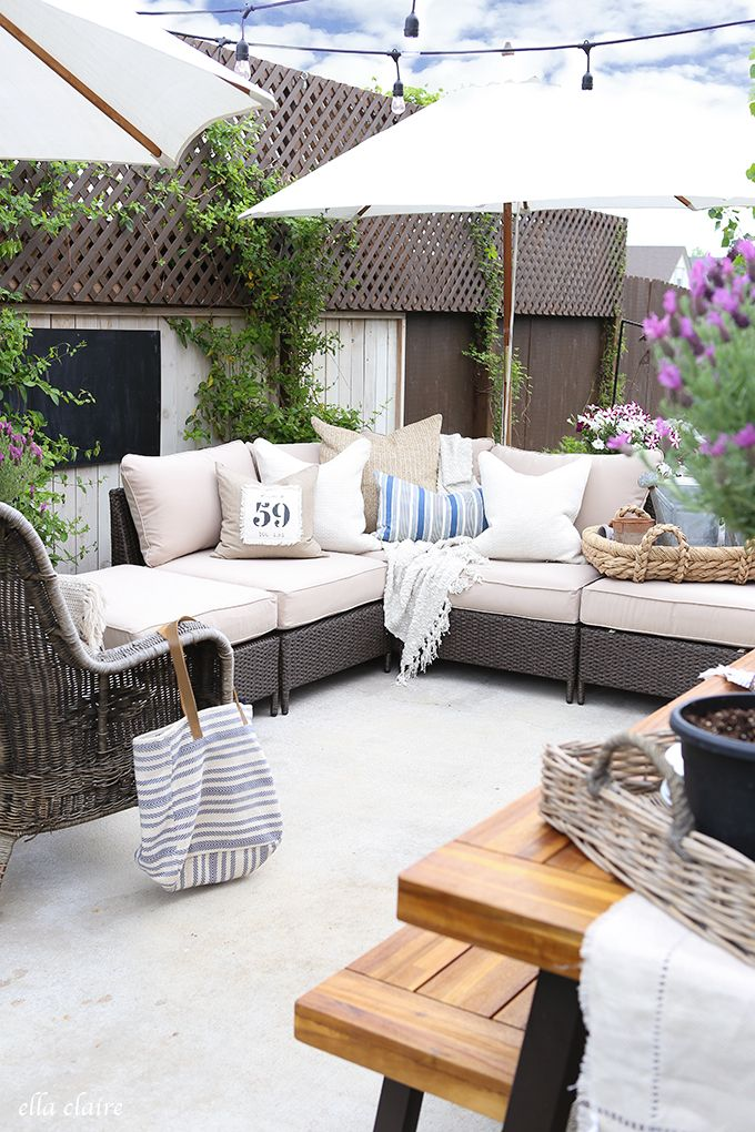 10 Beautiful Outdoor Makeovers and sweet words