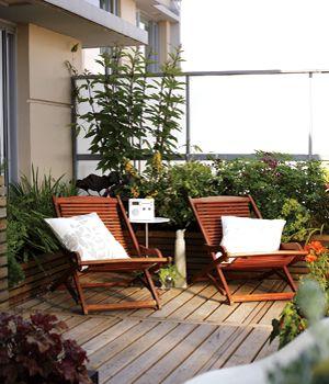 how to create a condo garden balcony