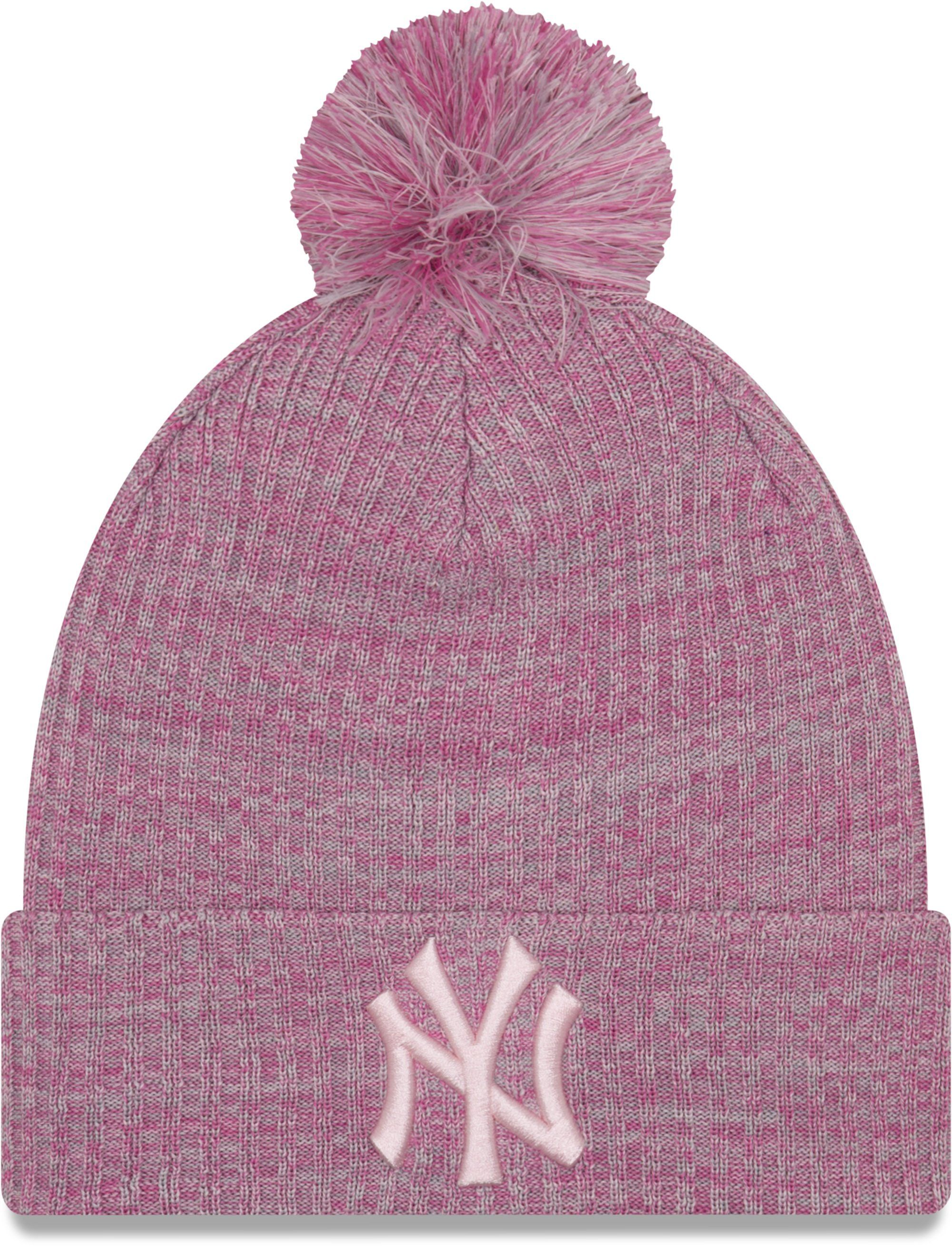 538c867f03d8cc NY Yankees Womens New Era Engineered Fit Knit Bobble Hat – lovemycap ...