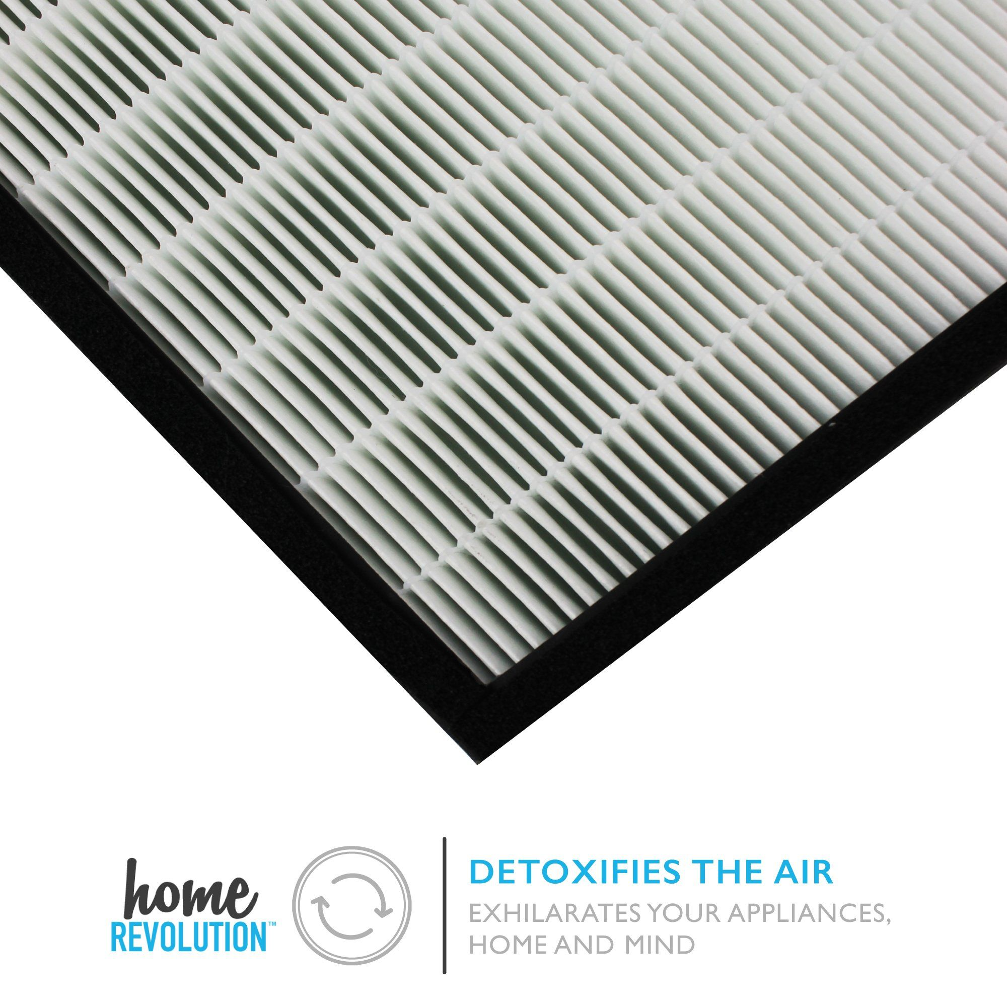 Home Revolution Replacement HEPA Filter Fits Rabbit Air