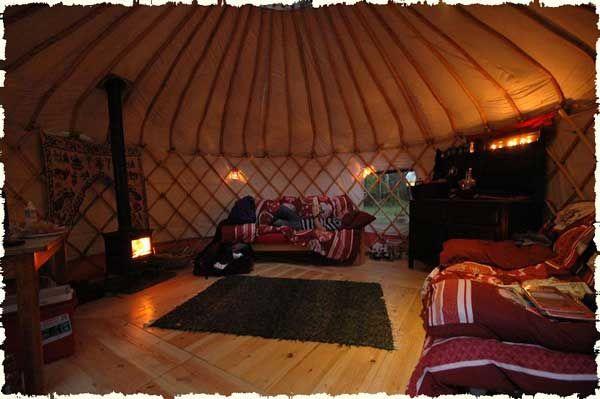 Our Yurts With Images Yurt Yurt Interior Luxury Yurt