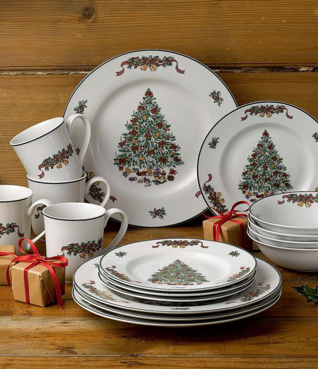 57 Beautiful Christmas Dinnerware Sets & 57 Beautiful Christmas Dinnerware Sets | Christmas dinnerware sets ...