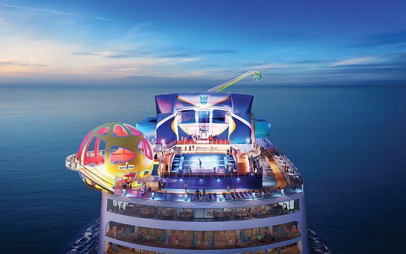 Bolder the world over on Royal Caribbean's newest gamechanger, Odyssey of the Seas, debuting April 2021 in Europe and sailing from Fort Lauderdale November 2021. #CruiseLife #Travel2021 #RebuildTravel #RoyalCaribbean #RunWithWanderlustTravel