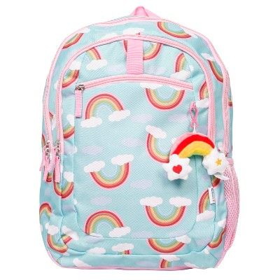 Crckt 16 5 Quot Rainbow Print Kids Backpack Target With