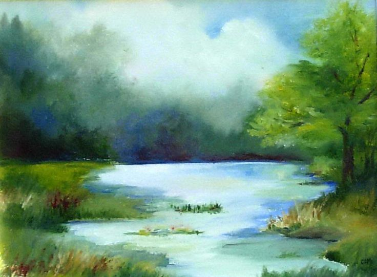 Pin By Neerja L Bisht On Watercolor Landscape Abstract