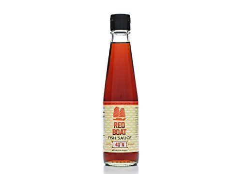 Red Boat Fish Sauce 8.45 ounce Bottle Red Boat Fish Sauce http://www.amazon.com/dp/B00XISQQJK/ref=cm_sw_r_pi_dp_meFxvb13CFTMD