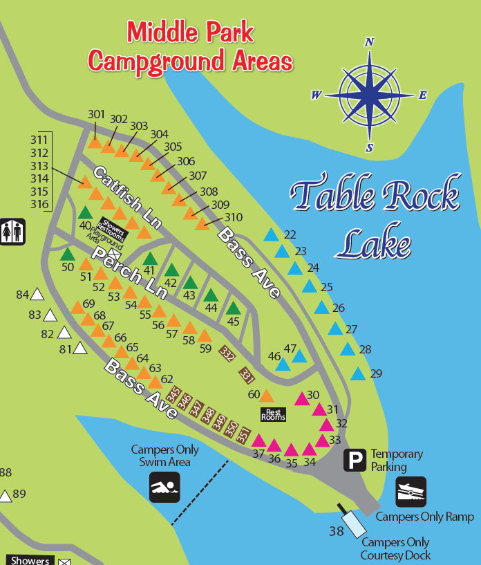 Campgrounds Table Rock Lake Brokeasshome Com