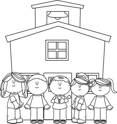 Pre K Yearly Assessment School Images School Coloring Pages School Clipart