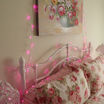 Fairy Lights Around The Home Lights - Girls bedroom fairy lights