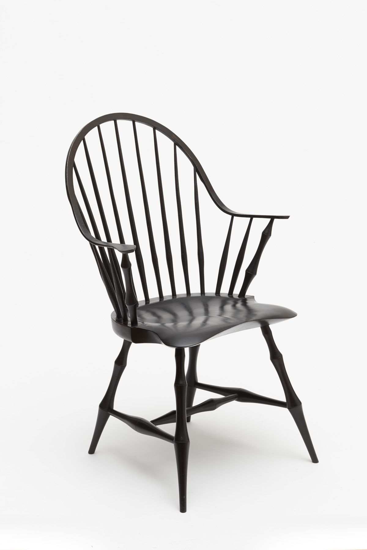 Continuous Arm Windsor Chair. Handmade.