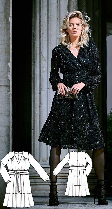 Dress Burda Nov 2016 #111 Detail: https://www.burdastyle.de ...