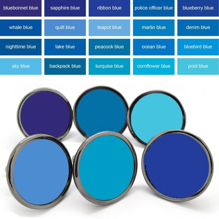 Inject some colour into your home with these brightly coloured blue ...