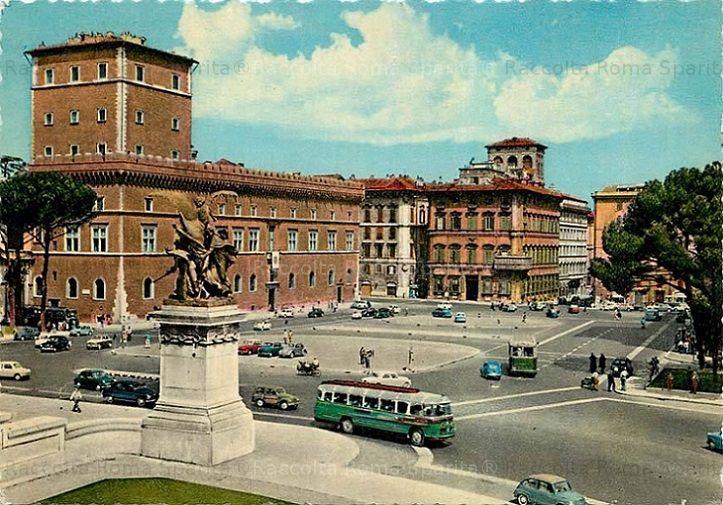 Foto storiche di Roma - Piazza Venezia