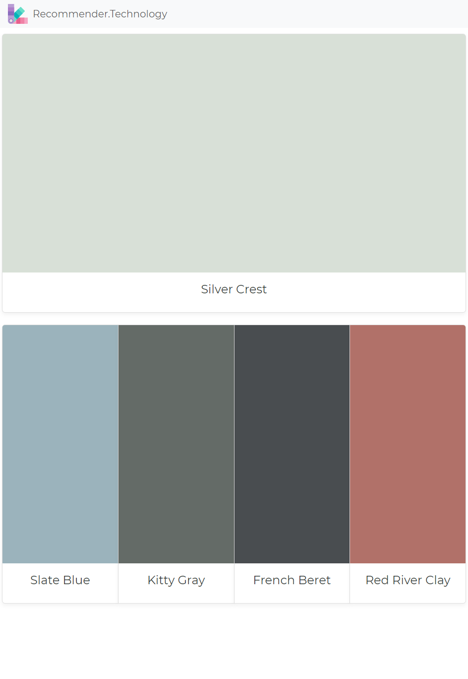 Silver Crest Slate Blue Kitty Gray French Beret Red River Clay Red Paint Colors Paint Colors Benjamin Moore Exterior House Colors