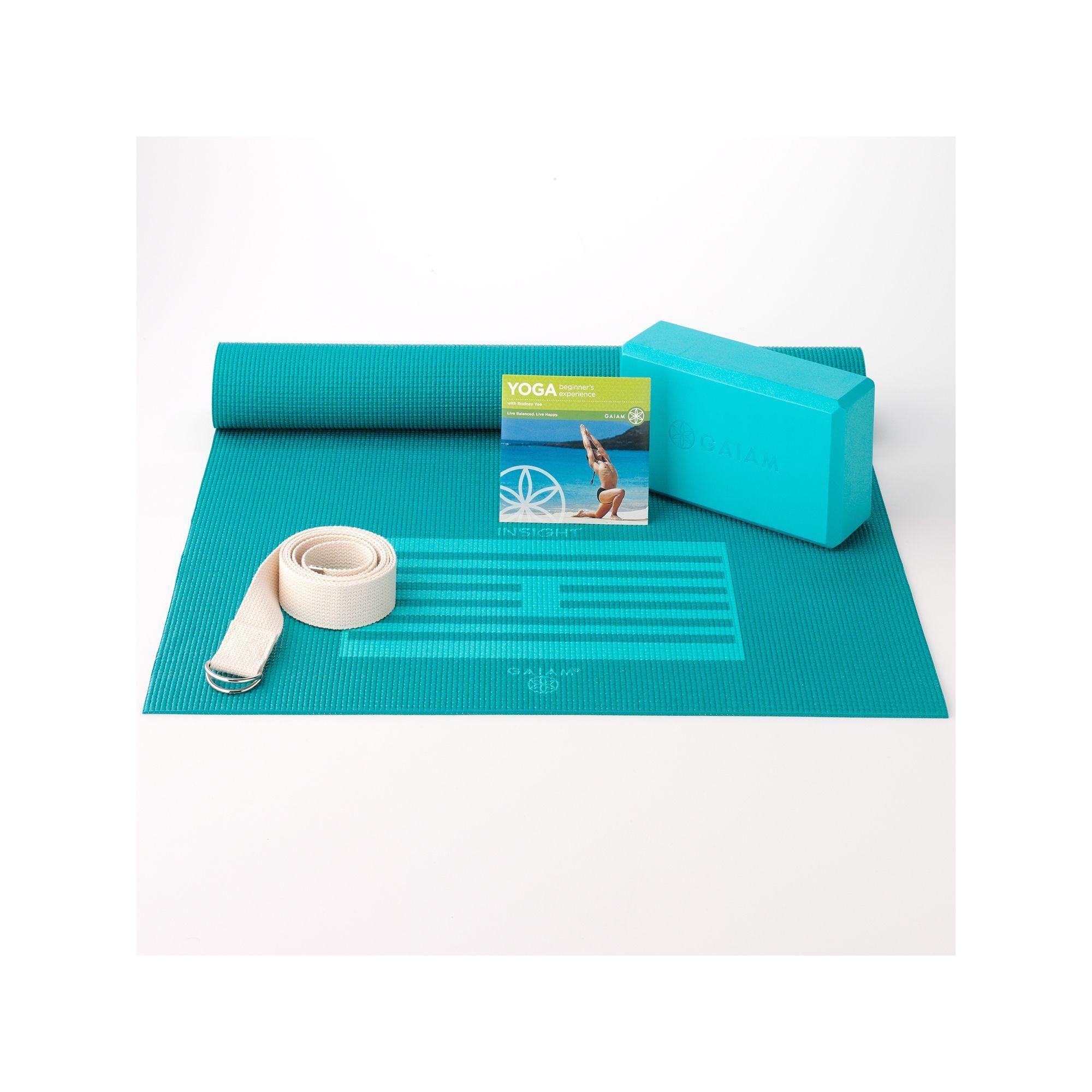 Gaiam Beginner's Yoga Kit, Multicolor