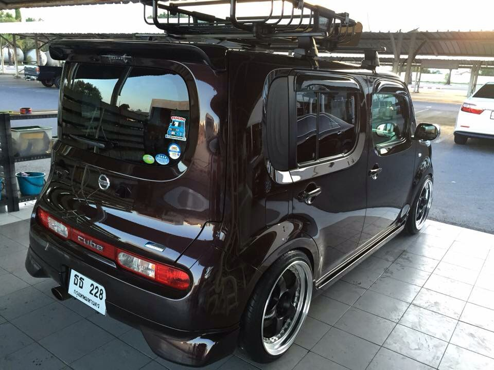 Nissan Cube Car Roof Racks Toasters Anese Cars Cubes Camper
