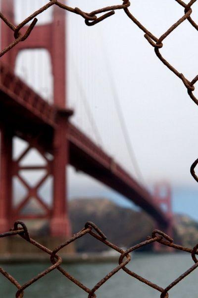 """Fence"", San Francisco by Dan van Moll."