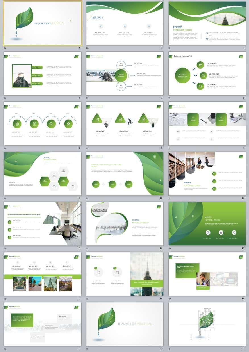 20 Green Design Powerpoint Templates Powerpoint Design Templates Powerpoint Templates Presentation Layout