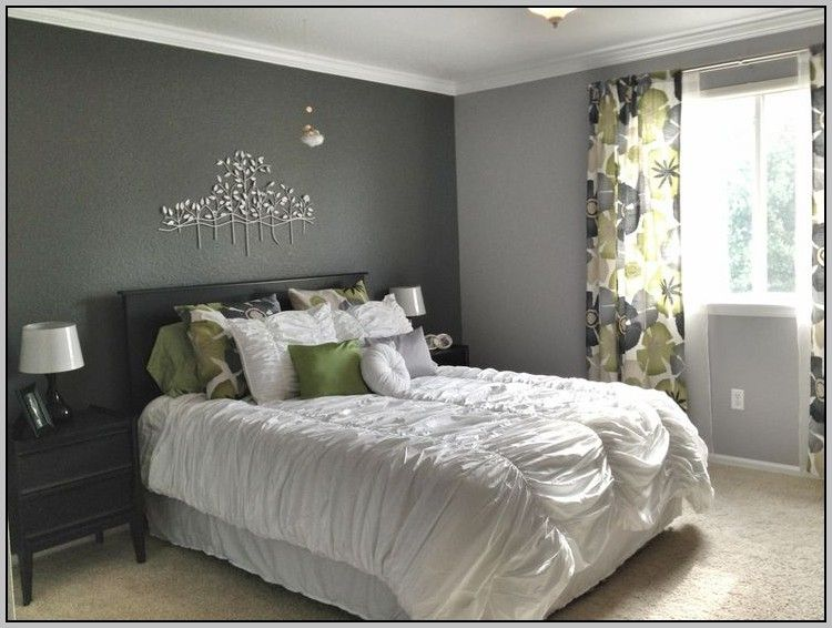 Accent Colors For Light Grey Walls Painting Best Home Design Ideas V79wd6qzzk Gray Accent Wall Bedroom Grey Bedroom Design Master Bedroom Wall Decor