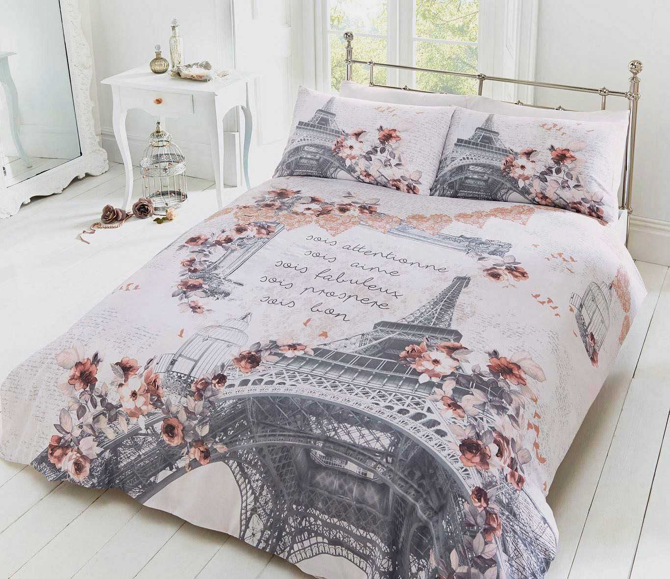 Comforter Cover Full Spring In Paris Bedding Twin Full Queen Duvet Cover Set