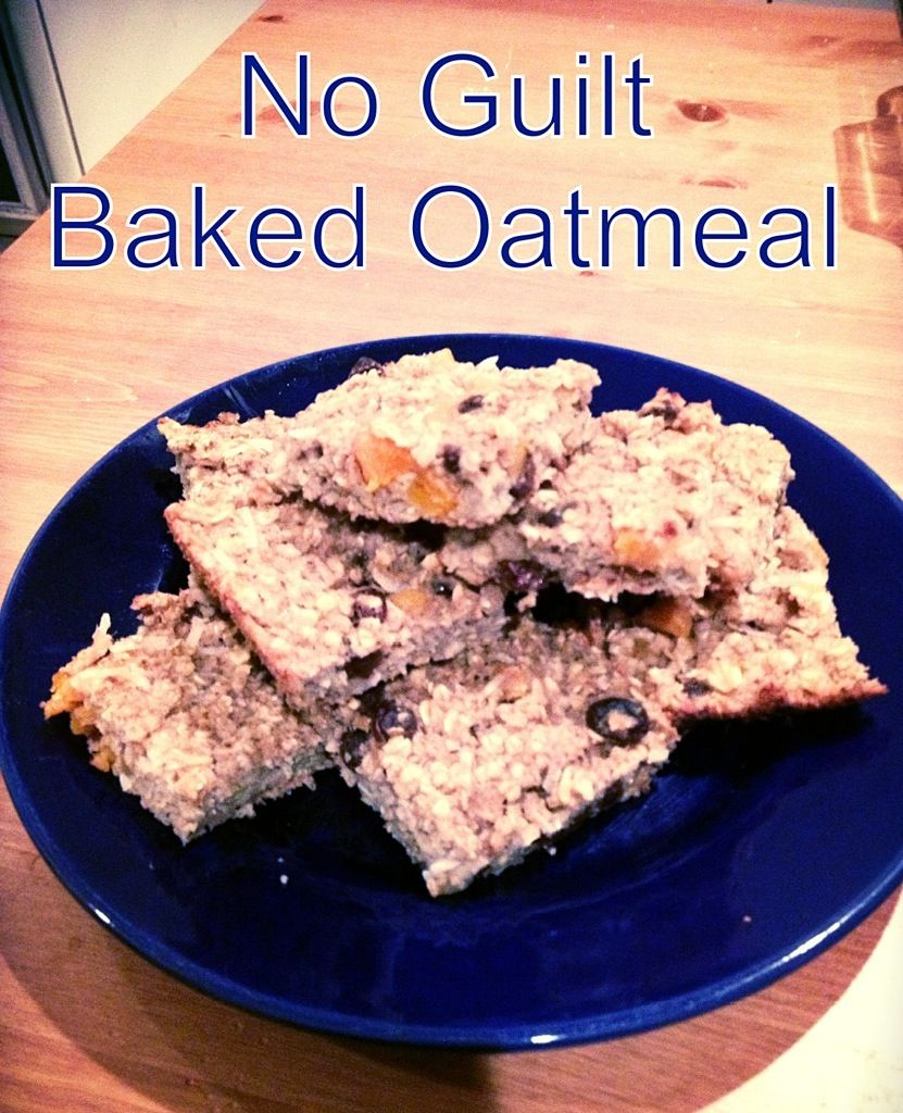 Breakfast Ideas Daniel Fast: {Daniel Fast} Baked Oatmeal Bars