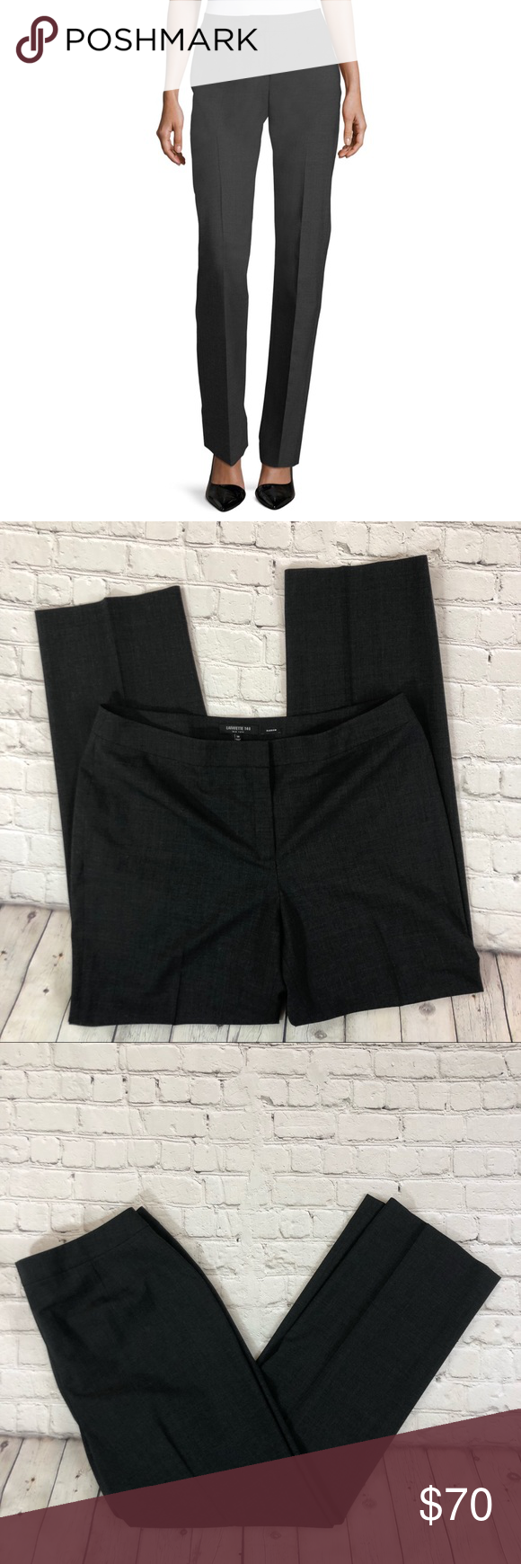 ac0b1a6ce5b Lafayette 148 Plus Finesse Straight Barrow Pants Find expert tailoring and  modern style with our Barrow