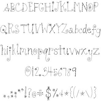 1843e1e2f639c6c5247bdacd4daae4be Fun Fonts Alphabet Cute Handwriting 330x351