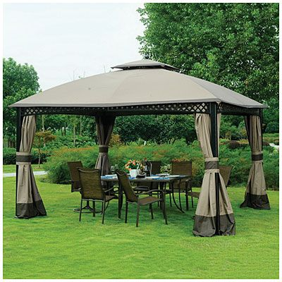 Wilson Fisher 10 X 12 Windsor Dome Gazebo Gazebo Outside House Paint Ponds Backyard